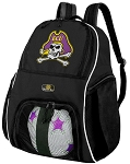 East Carolina University Soccer Backpack or ECU Volleyball Bag For Boys or Girls