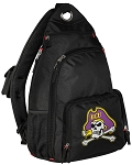 ECU Pirates Backpack Cross Body Style