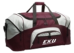 Large EKU Duffle Bag Maroon