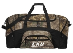 Large EKU Duffle Bag REALTREE CAMO Eastern Kentucky Duffel