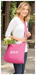 EKU Tote Bag Sling Style Eastern Kentucky Shoulder Bag Pink