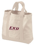 EKU Tote Bags NATURAL CANVAS