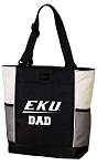 EKU DAD Tote Bag White Accents