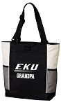 EKU Grandpa Tote Bag White Accents