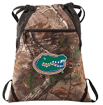 University of Florida RealTree Camo Cinch Pack
