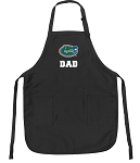 Official University of Florida Dad Apron Black