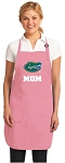 Deluxe University of Florida Mom Apron Pink - MADE in the USA!