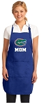 Deluxe Florida Gators Mom Apron University of Florida Mom for Men or Women