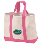University of Florida Tote Bags Pink