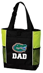 University of Florida Dad Tote Bag COOL LIME