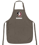 Official FSU Grandma Apron Tan