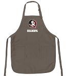 Official FSU Grandpa Apron Tan