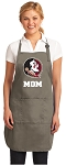 Official FSU Mom Apron Tan