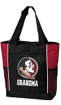 Florida State Grandma Tote Bag Red