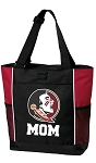Florida State Mom Tote Bag Red