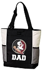 Florida State Dad Tote Bag White Accents