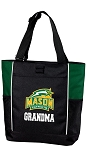 George Mason Grandma Tote Bag Hunter Green