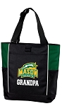 George Mason Grandpa Tote Bag Hunter Green