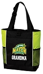 George Mason Grandma Tote Bag COOL LIME