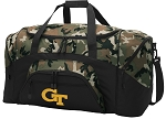 Official Georgia Tech Camo Duffel Bags