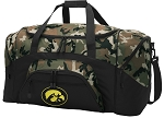 Official University of Iowa Camo Duffel Bags