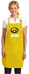 Deluxe University of Iowa Mom Apron - MADE in the USA!