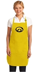Deluxe University of Iowa Apron - MADE in the USA!