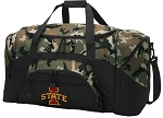 Official Iowa State Camo Duffel Bags
