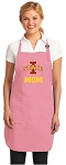 Deluxe Iowa State Mom Apron Pink - MADE in the USA!