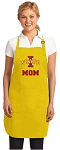Deluxe Iowa State Mom Apron - MADE in the USA!