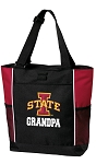 Iowa State Grandpa Tote Bag Red