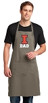 University of Illinois Dad Large Apron Khaki