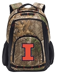 University of Illinois RealTree Camo Backpack