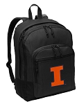 University of Illinois Backpack - Classic Style