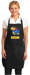 Official University of Kansas Mom Apron Black