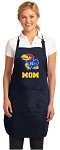 Official University of Kansas Mom Aprons Navy