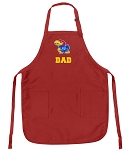 Official University of Kansas Dad Aprons