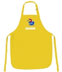Deluxe University of Kansas Grandpa Apron - MADE in the USA!