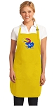 Deluxe University of Kansas Apron - MADE in the USA!