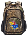 University of Kansas RealTree Camo Backpack