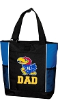 University of Kansas Dad Tote Bag Roy