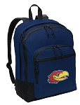 University of Kansas Backpack Navy