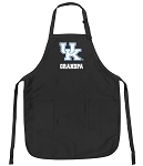 Official University of Kentucky Grandpa Apron Black