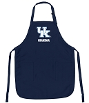 Official University of Kentucky Grandma Aprons Navy