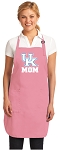 Deluxe University of Kentucky Mom Apron Pink - MADE in the USA!