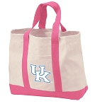 University of Kentucky Tote Bags Pink