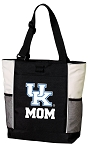 University of Kentucky Mom Tote Bag White Accents