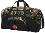 Official University of Louisville Camo Duffel Bags