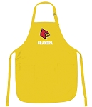 Deluxe University of Louisville Grandpa Apron - MADE in the USA!