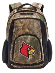 Louisville Cardinals RealTree Camo Backpack
